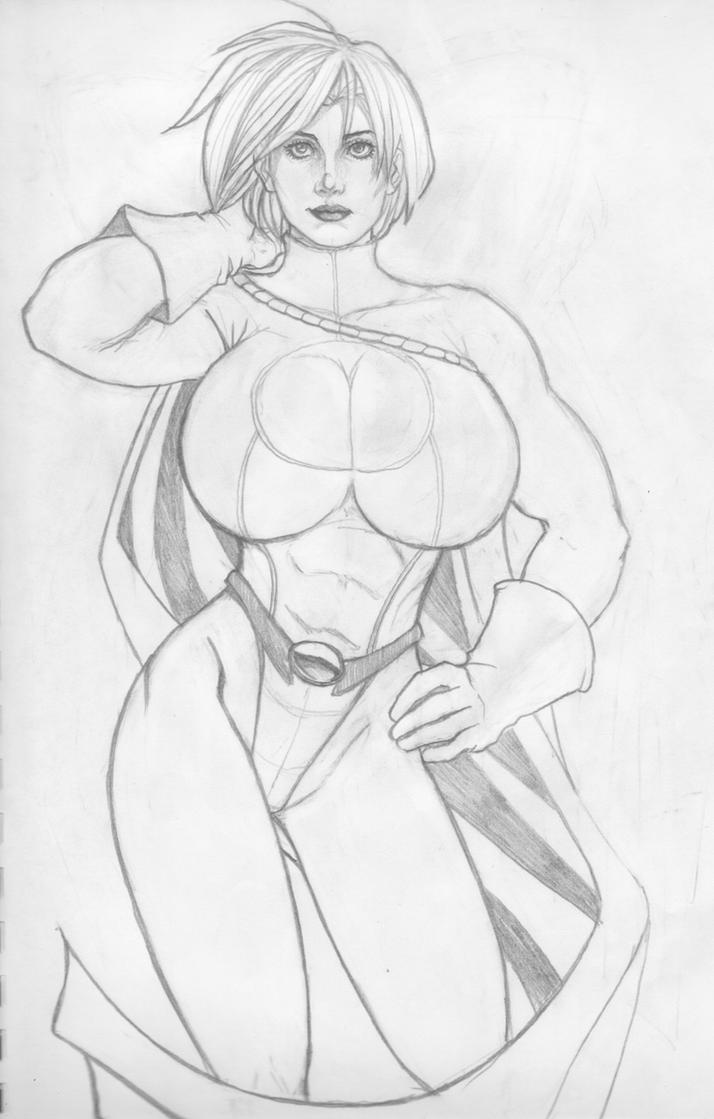 Power Girl by Geminice