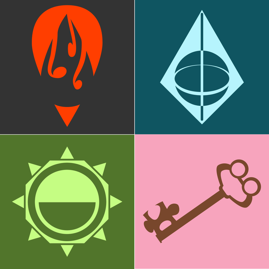 Symbols for non-canon aspects. by CakeBandit on DeviantArt