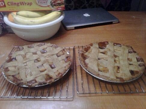 Apple Pie Anyone? by Penguinnpita