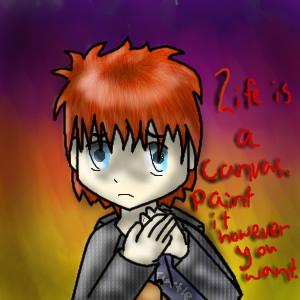 The Depressive Art Kid by Bystander42