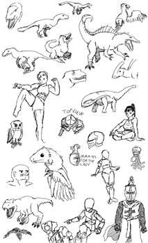 Sketch Compilation 4