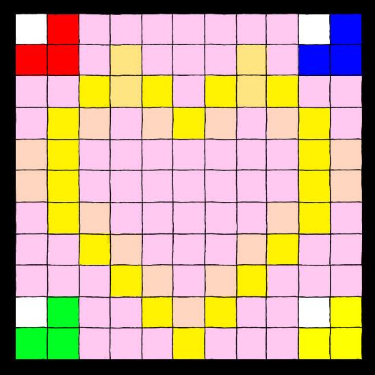 pixel art 11x11