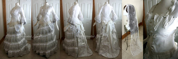 Christine Daae's Wedding Dress #1