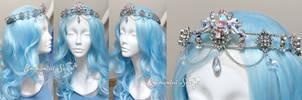 Starlight Water Goddess Tiara by enchantedsea