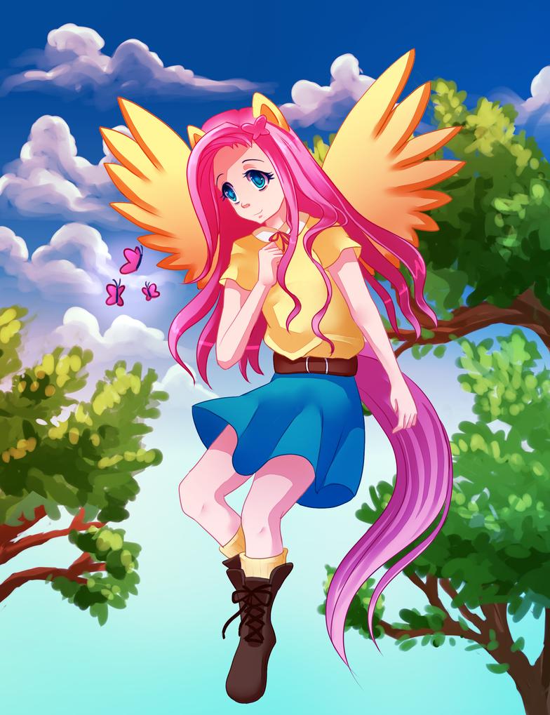 Fluttershy by nanidani