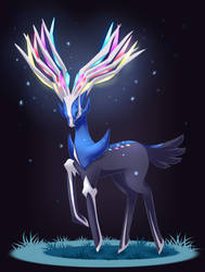 Xerneas by nanidani