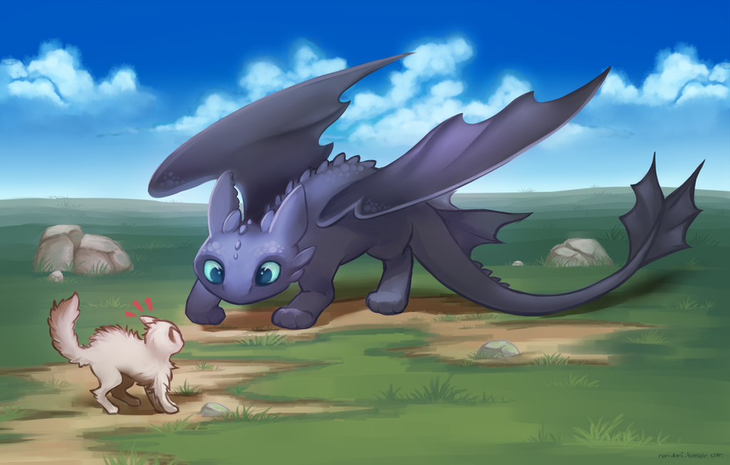Toothless by nanidani
