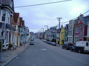Colorful row houses 4
