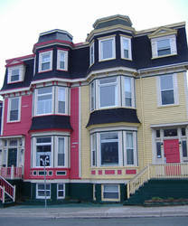 Colorful row houses 6