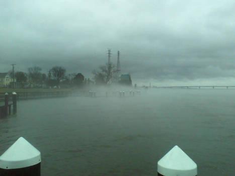 Mist on the Nanticoke
