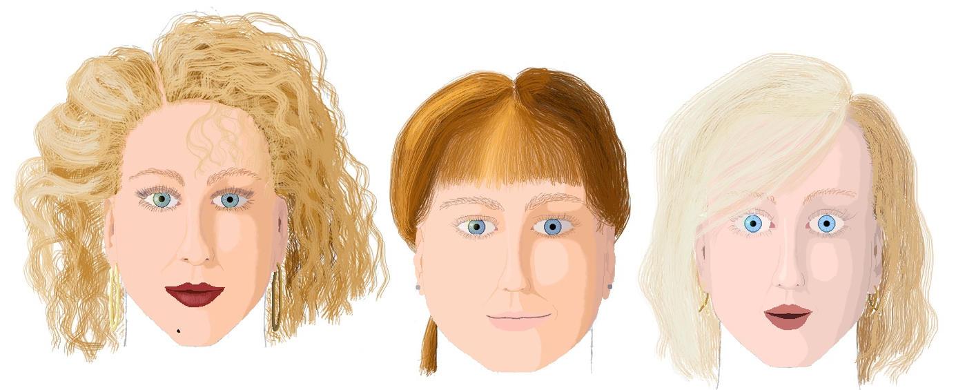 The Bradshaw Sisters by lockswriter