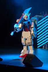GAT-X 105 Sword Strike Gundam Cosplay by Tatsutetsu