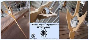 RWBY Weiss Schnee Myrtenaster Update