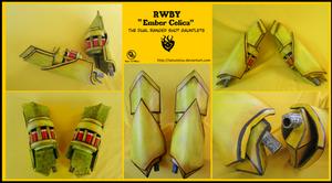 RWBY Ember Celica by Tatsutetsu