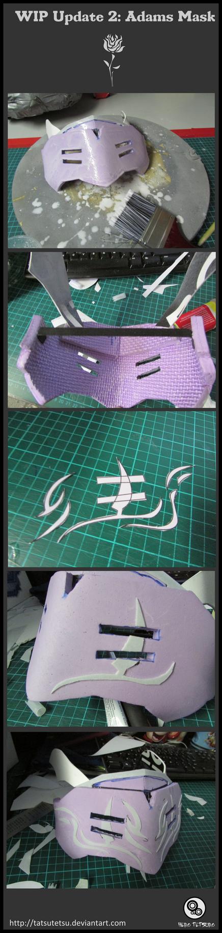 RWBY Adams Mask WIP Update 2 by Tatsutetsu
