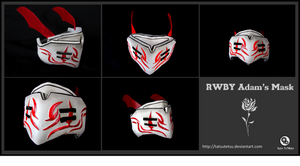 RWBY Adam's Mask