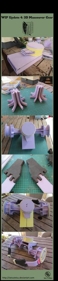 Shingeki no kyojin :3D Manoeuvre Gear WIP Update 4