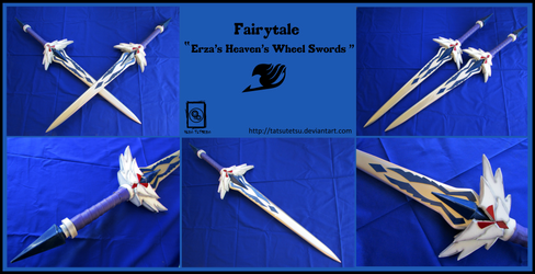 Fairytail: Erza Scarlet's Heaven's Wheel Swords