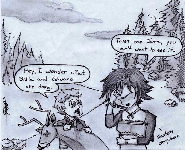 Twilight Breaking Dawn Parody by Grafiquero