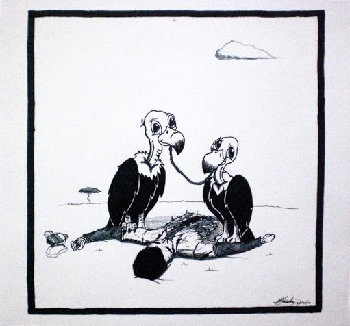 Vulture Love by Grafiquero