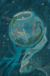 Under the sea . by Philia1008