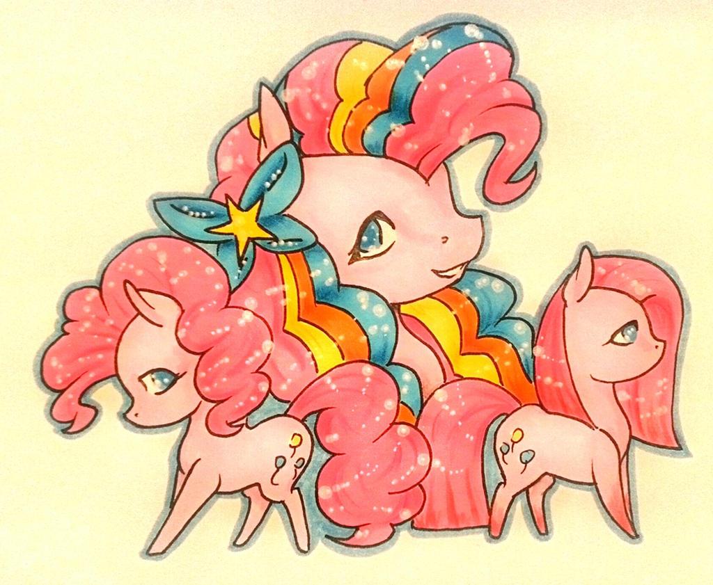Slides of Pinkie Pie by Eothnoguy