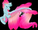 [MLP speedpaint] Ocellus as seapony