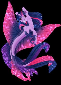 [MLP speedpaint] Seapony Twilight by Oneiria-Fylakas