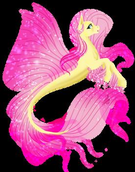 [MLP speedpaint] Seapony Fluttershy