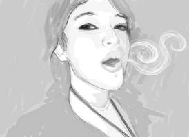 JEN: Smoke by ohScorpio