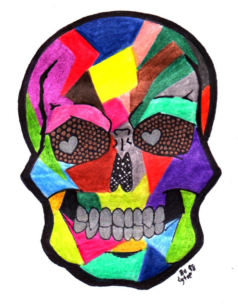 Art Skull by lytre98