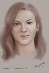 Warm-up portrait