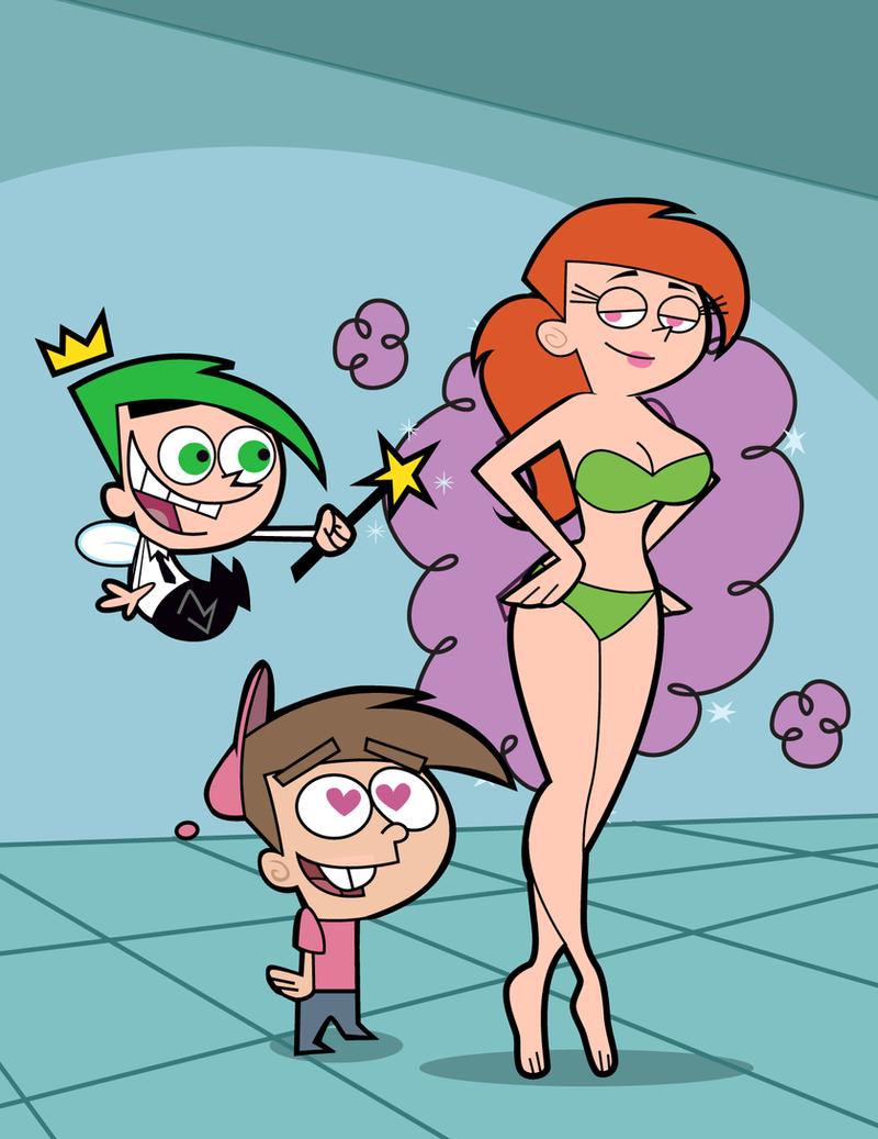 Fairly oddparents shemale porn erotic pics