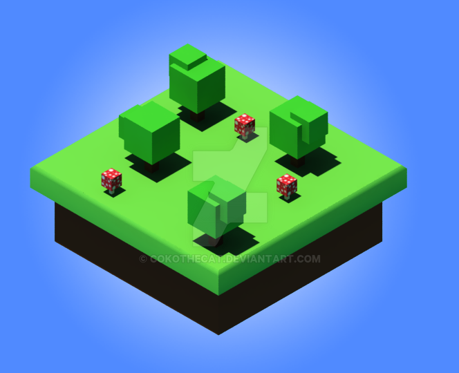 Isometric by CokoTheCat