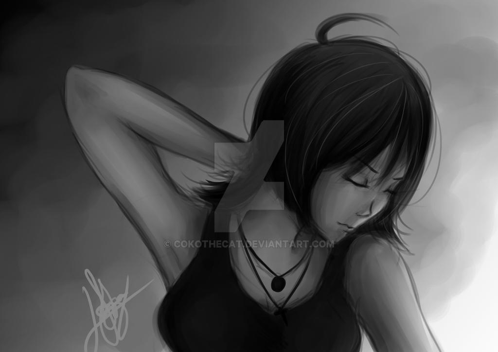 Grayscale by CokoTheCat