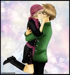 [Prize] SakuraxSyaoran kiss