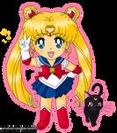 01. Sailor Moon and Luna