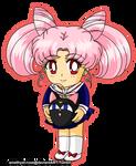 Chibi-usa and Luna-P