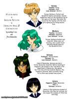 Hogwarts Crossover: Haruka,Michiru,Setsuna,Hotaru by amethyst-rose