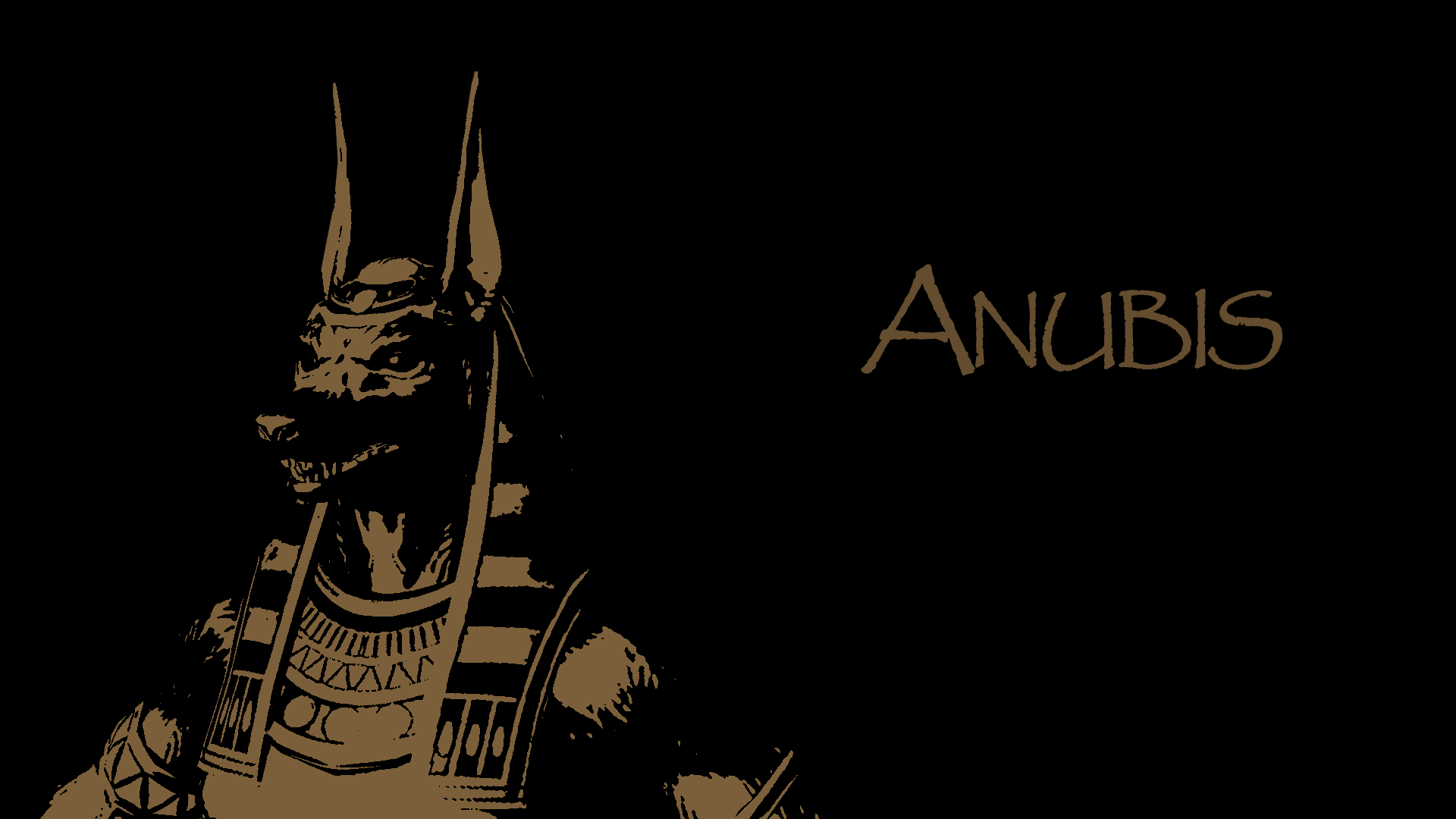 anubis wallpaper by aa...