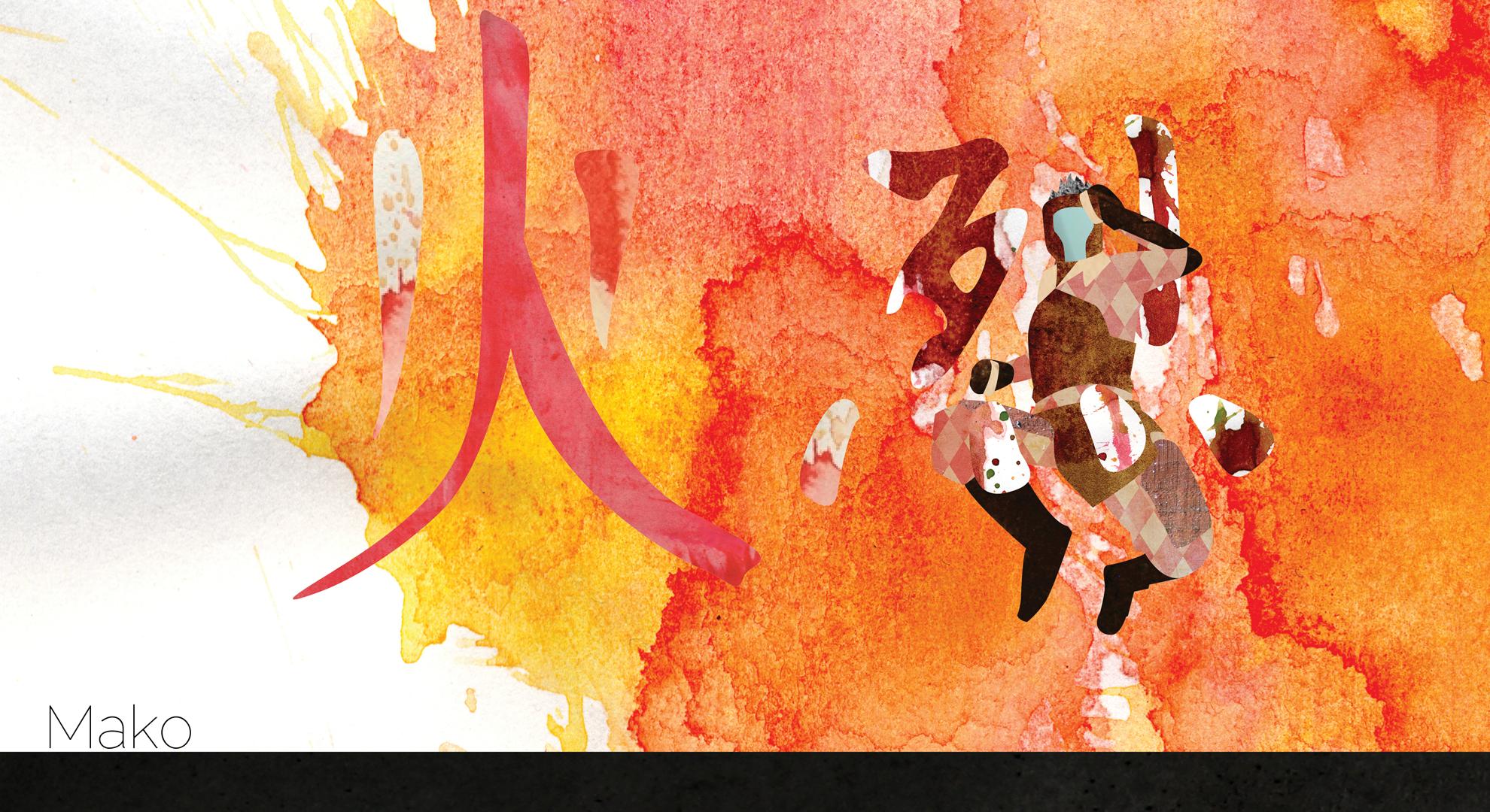 Mako Wallpaper by inkWanderer