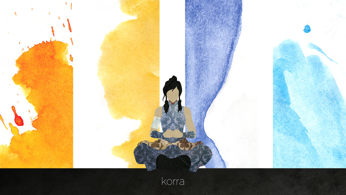 Korra Wallpaper by inkWanderer