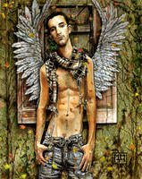 'Autumn Angel' 3D 2008 by StPeteArtisan