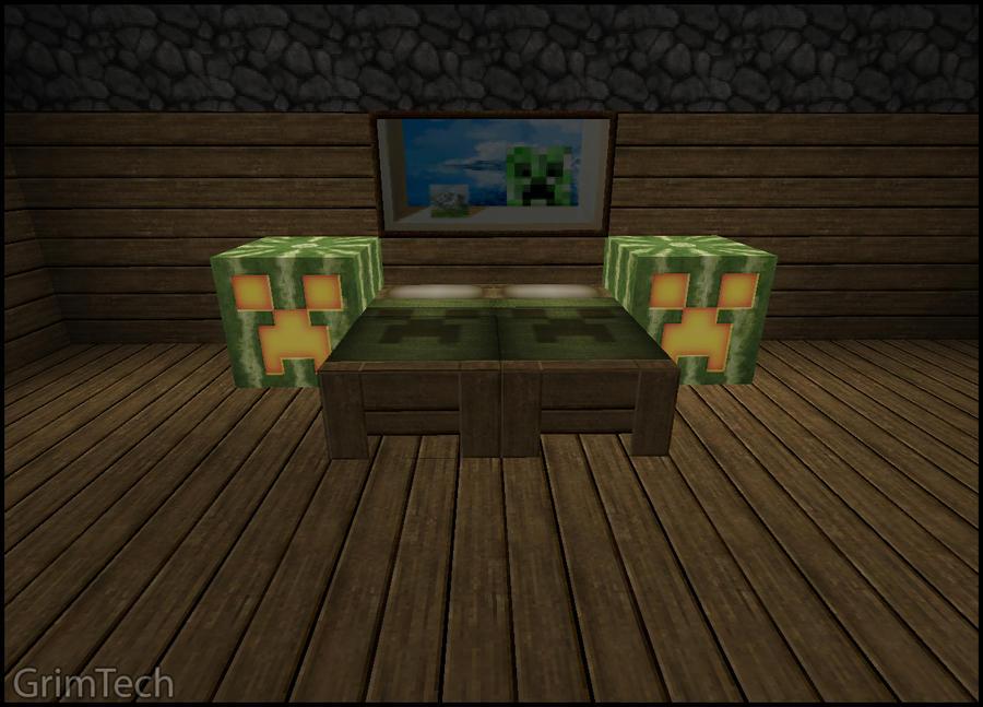 Minecraft: Bedroom Set by PatrickJr on DeviantArt