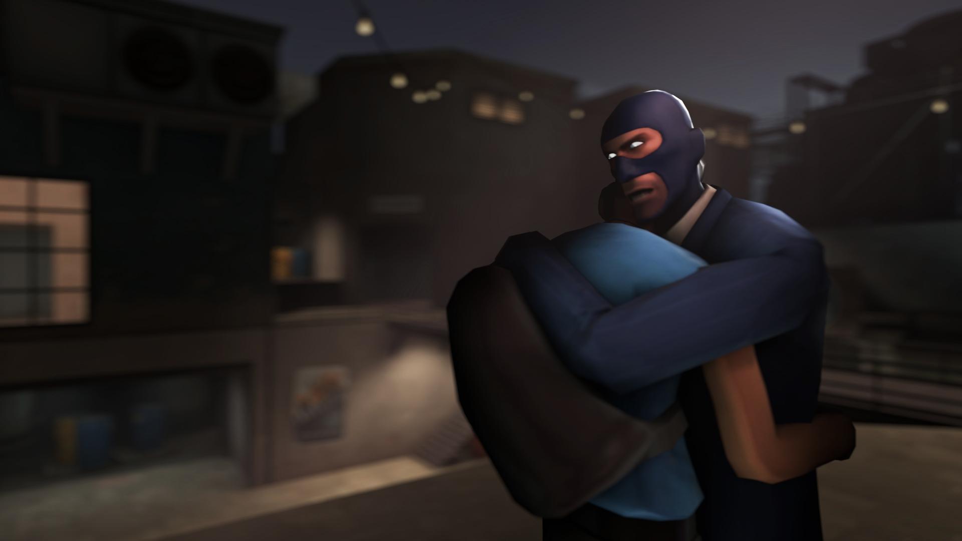 SFM Poster: Spy x Scout by PatrickJr
