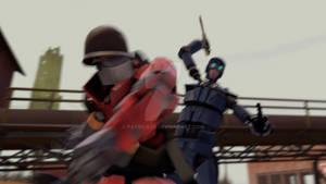 SFM Poster: Meet the Robot Soldier