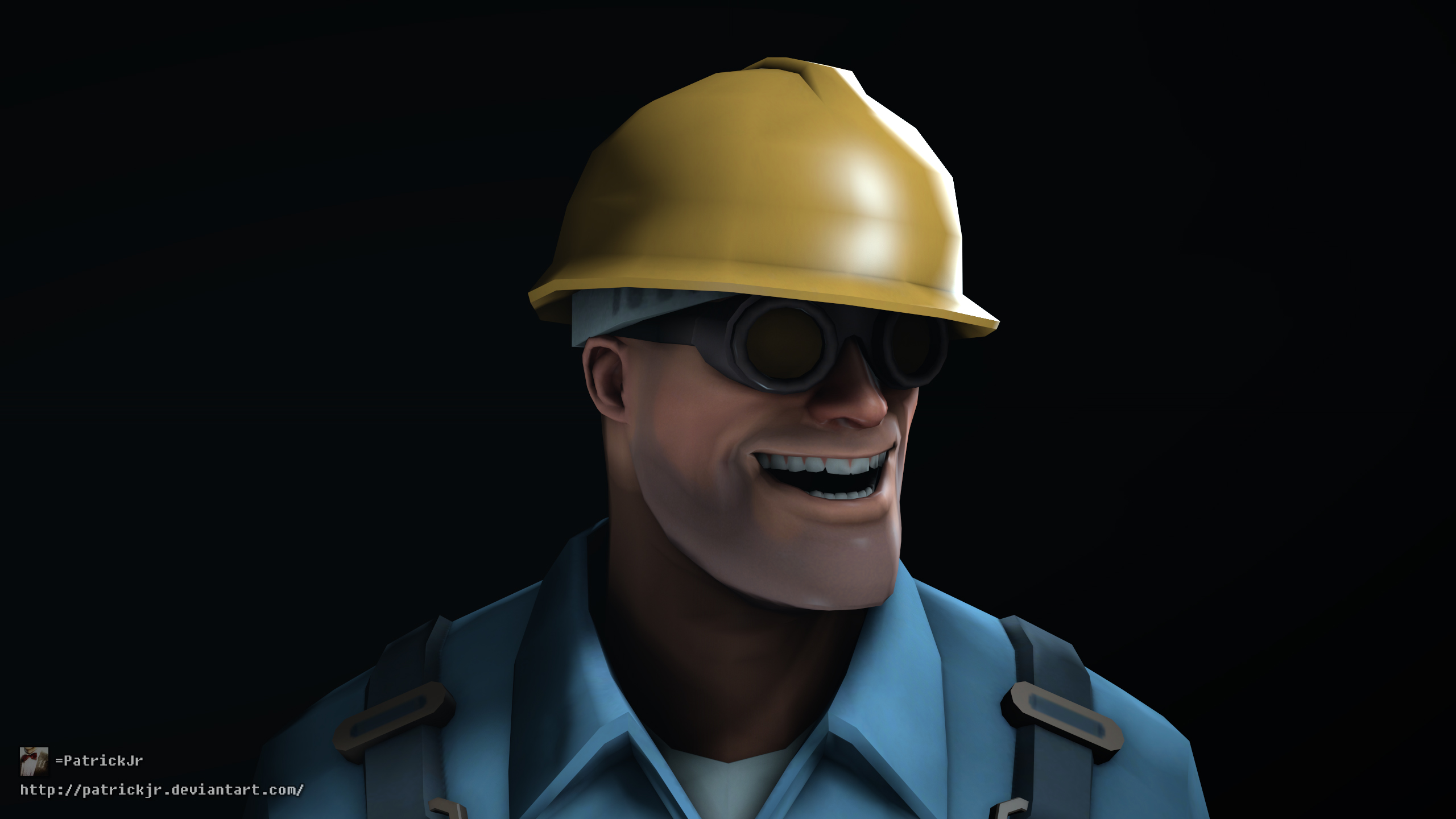 sfm poster meet the engineer blu by patrickjr on deviantart