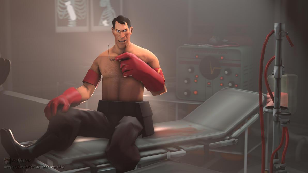 SFM Poster: Sexy Medic by PatrickJr