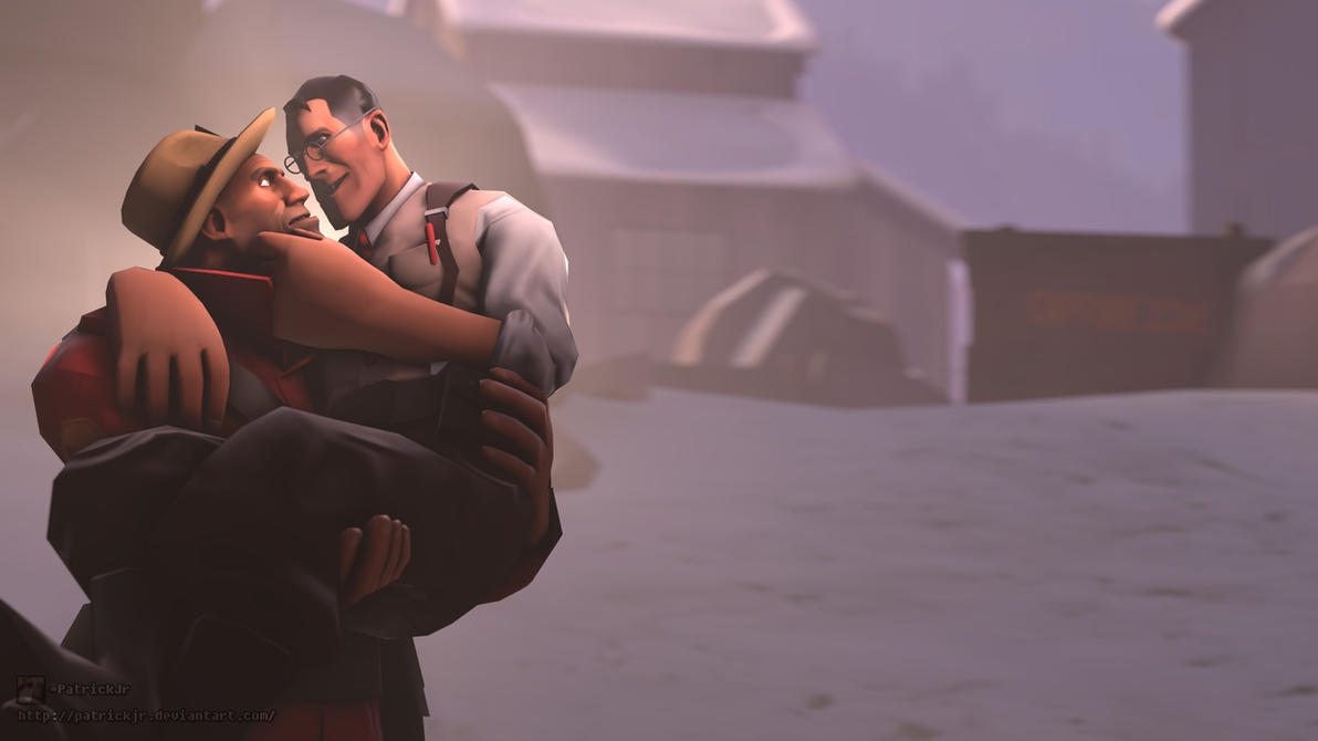 SFM Poster: The Medic's Feels by PatrickJr