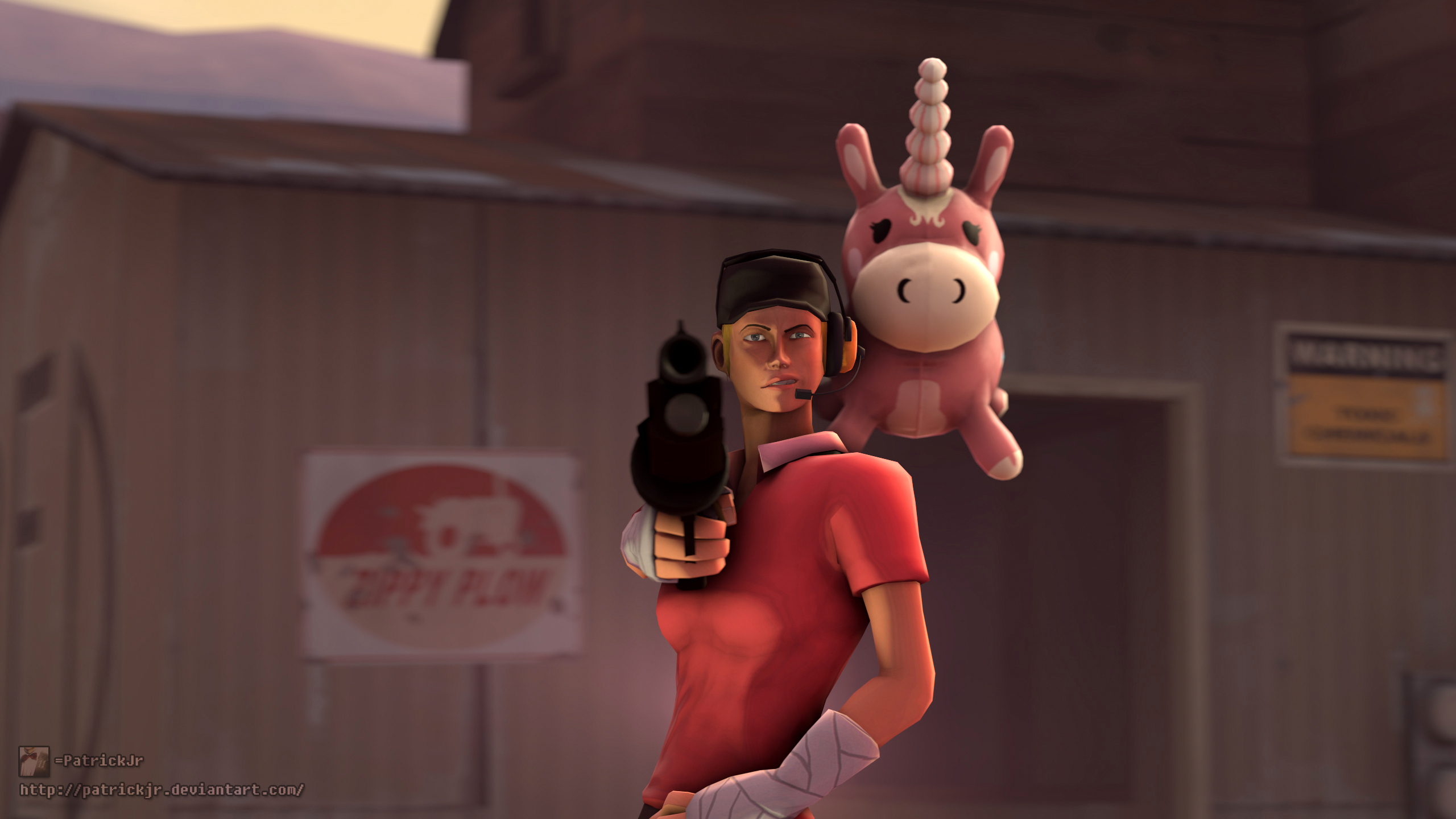 SFM Poster: Watch out Bud by PatrickJr